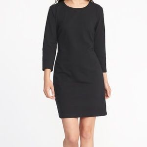 Dresses & Skirts - Red or Grey Crew Neck Jersey Tee Dress szL-Tall